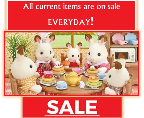 Sylvanian Famlies Discounted prices on current items