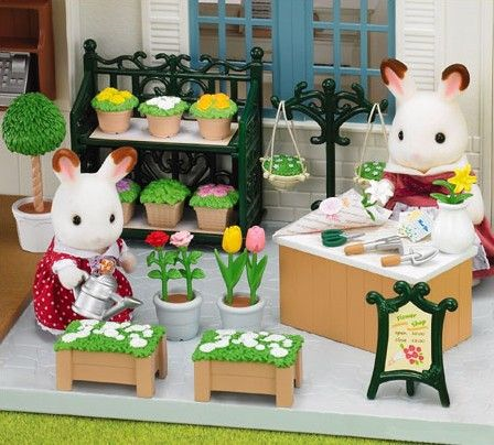 Sylvanian Families Ornate Garden Shop