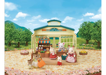 Sylvanian Families Grocer market