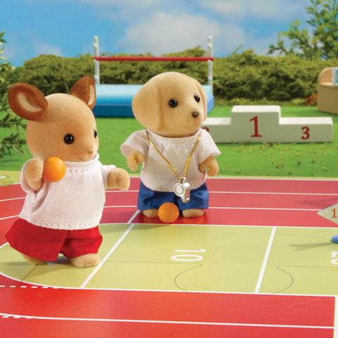 Sylvanian Families Shot put team