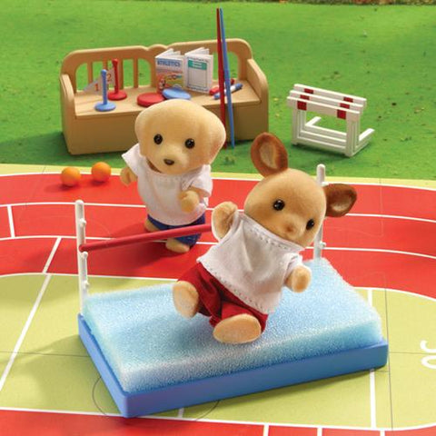 Sylvanian FAmilies red deer family sports moment