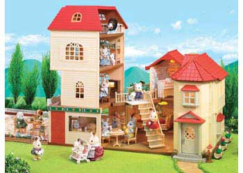 Sylvanian Families buildings that connect