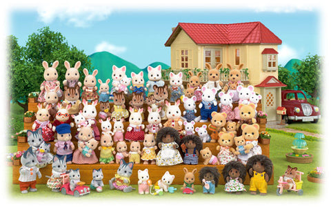 Sylvanian Families Family photo