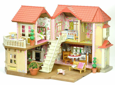 Sylvanian Families Beechwood Hall wallpaper