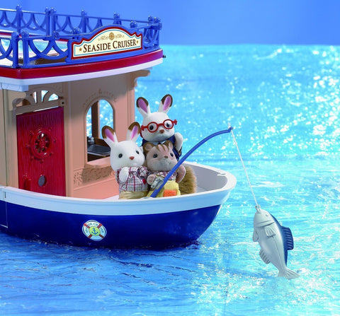Sylvanian Families Chocolate Rabbit Seabreeze rabbit Grandparents