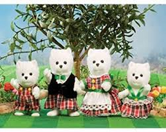 sylvanian families West HIghland Terrier Family