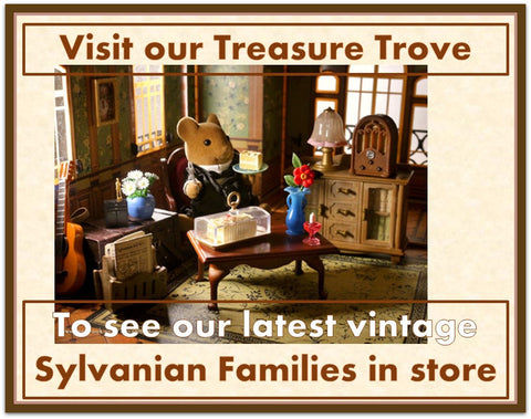 Sylvanian Families Tomy and Flair retired