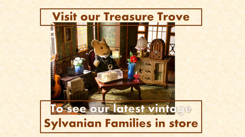 Sylvanian Families vintage items collectors