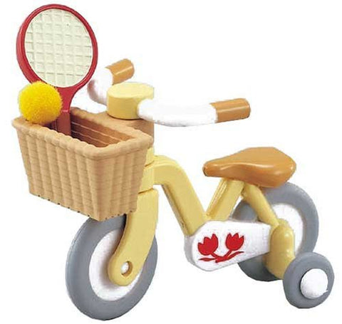 Sylvanian Families yellow trike bike