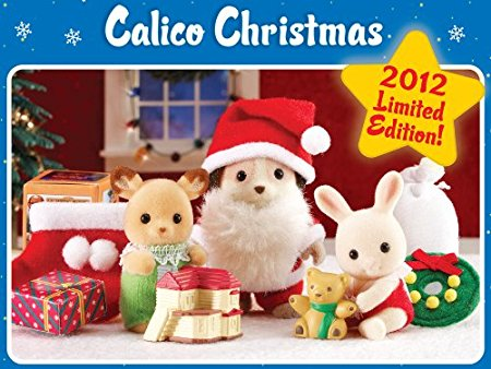 Sylvanian FAmilies Christmas Set Beagle Santa and Christmas Babies