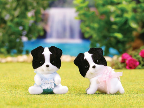 Sylvanian FAmilies border collie twins