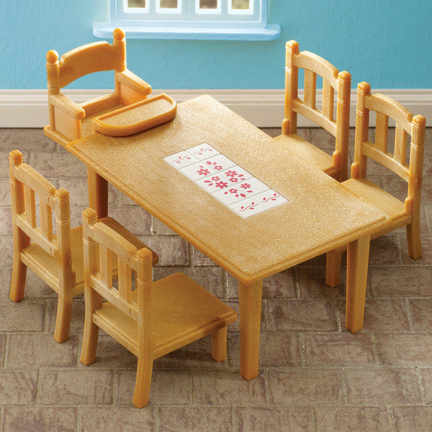 Sylvanian Families Table and Chairs Living Room Furniture