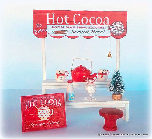 Minaiture Hot Cocoa Stand