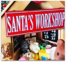 SANTA'S WORKSHOP - Choose your toys