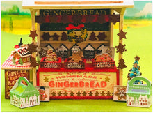 Miniature Dollshouse gingerbread market stall