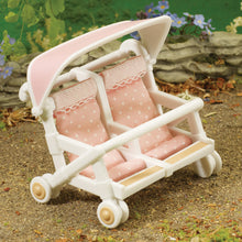 Sylvanian Families Double Pushchair SF 4533