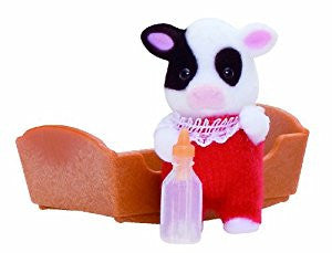 Sylvanian Families Cow baby Cheddar Buttercup cow family