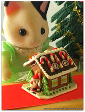 Christmas in Sylvanian Families Gingerbread House miniature