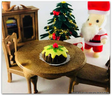 Christmas in Sylvania Santa and Christmas pudding