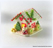 Gingerbread cottage miniature for Sylvanian Families Christmas