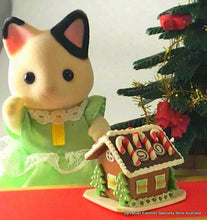 Christmas for Sylvanian Families Gingerbread cottage house