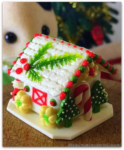 Gingerbread house miniature for Sylvanian Families Christmas