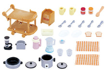 Sylvanian Families Kitchen Trolley with Cooking Accessories