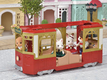 Sylvanian Families Ride Along tram latest