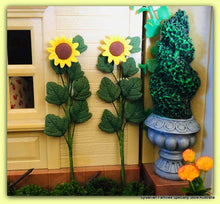Dollshouse  miniature Sunflowers