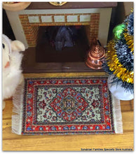 Dollshouse miniature Turkish woven Persian rug carpet