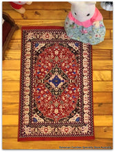 Dollshouse miniature oriental rug carpet