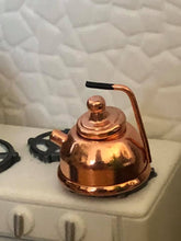 Copper kettle - Dollshouse miniature