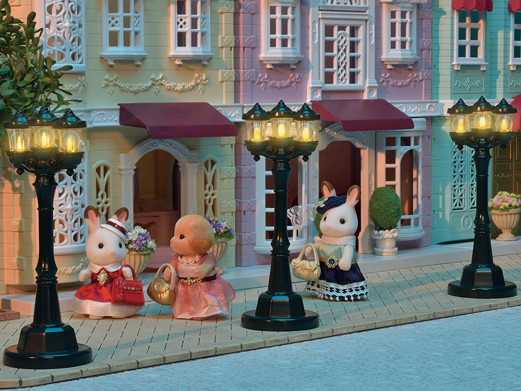 Sylvanian Families Light Up Street Light Sylvanian