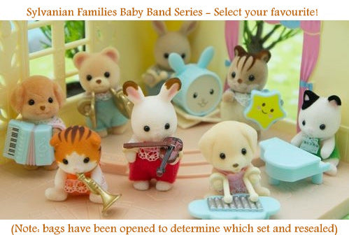 Sylvanian Families Baby Band Series Blind Bag - SELECT YOUR OWN