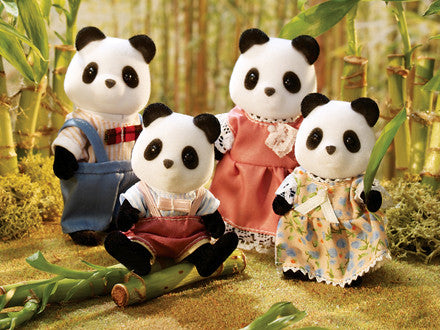 Calico Critter Wilder Panda family