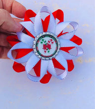 Christmas Hair Clip - Candy Canes