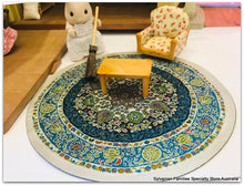 Sylvanian Families Beechwood hall round rug carpet decor