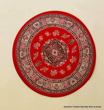 Carpet - Round red