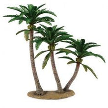 Coconut palms trees for use in Sylvanian Families seaside scenery