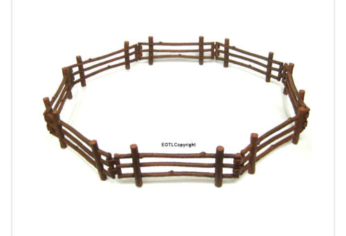 Collecta Log fence miniature world