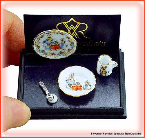 Peter Rabbit Porcelain Breakfast set - Miniature
