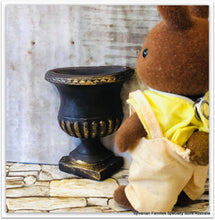 Sylvanian Rabbit garden urn pot