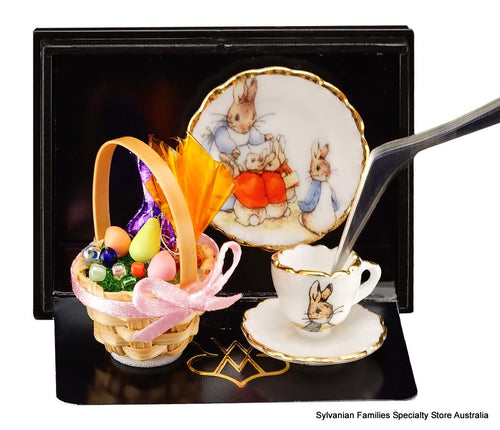 Peter Rabbit Miniature plate and saucer