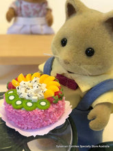Miniature Cake Dollshouse 1:12 Fruit salad for Sylvanian Families fox