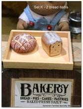 Dollshouse miniature bakery food items