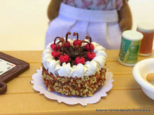 Cake Miniature - Cherries on top