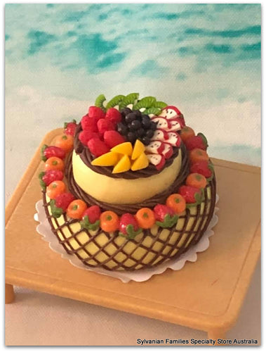 Tiered Cake Miniature - Fruit Salad