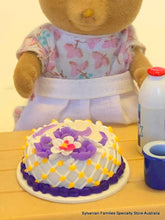 Cake Miniature - Floral Purple