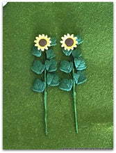 Sunflowers x 2 - Miniature