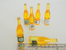 Miniature dollshouse bottles